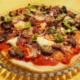 Hjortepizza